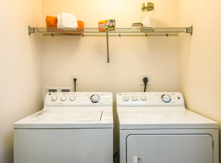 Washer and Dryers in all Homes