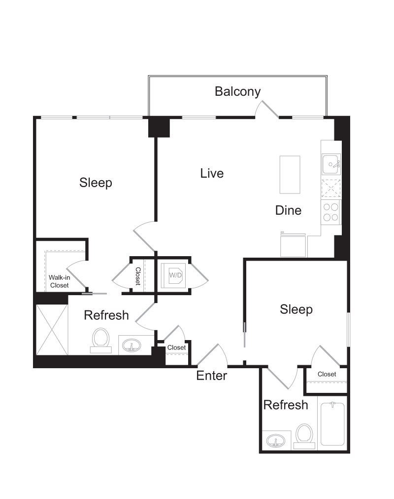 Spacious Floor Plan Options