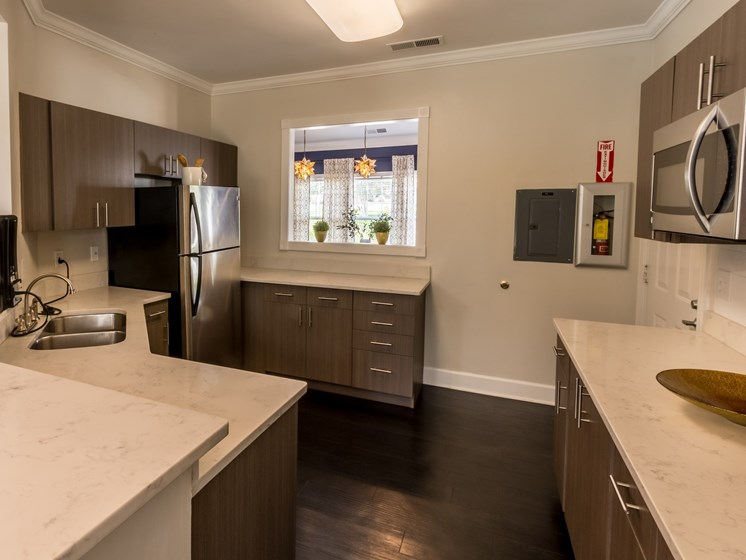 Resident Kitchen with Java Bar