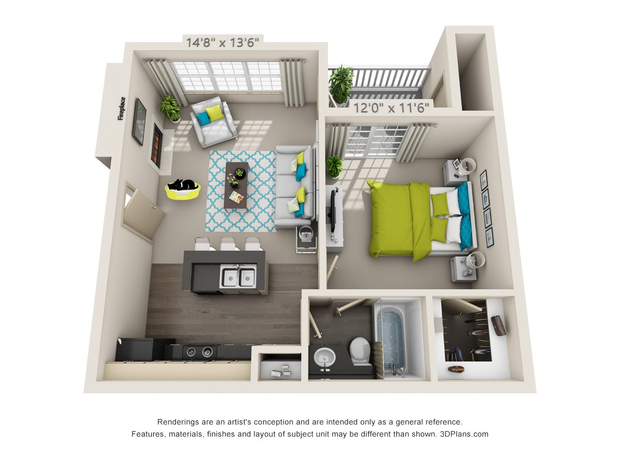 Aberdeen Floor Plan 1