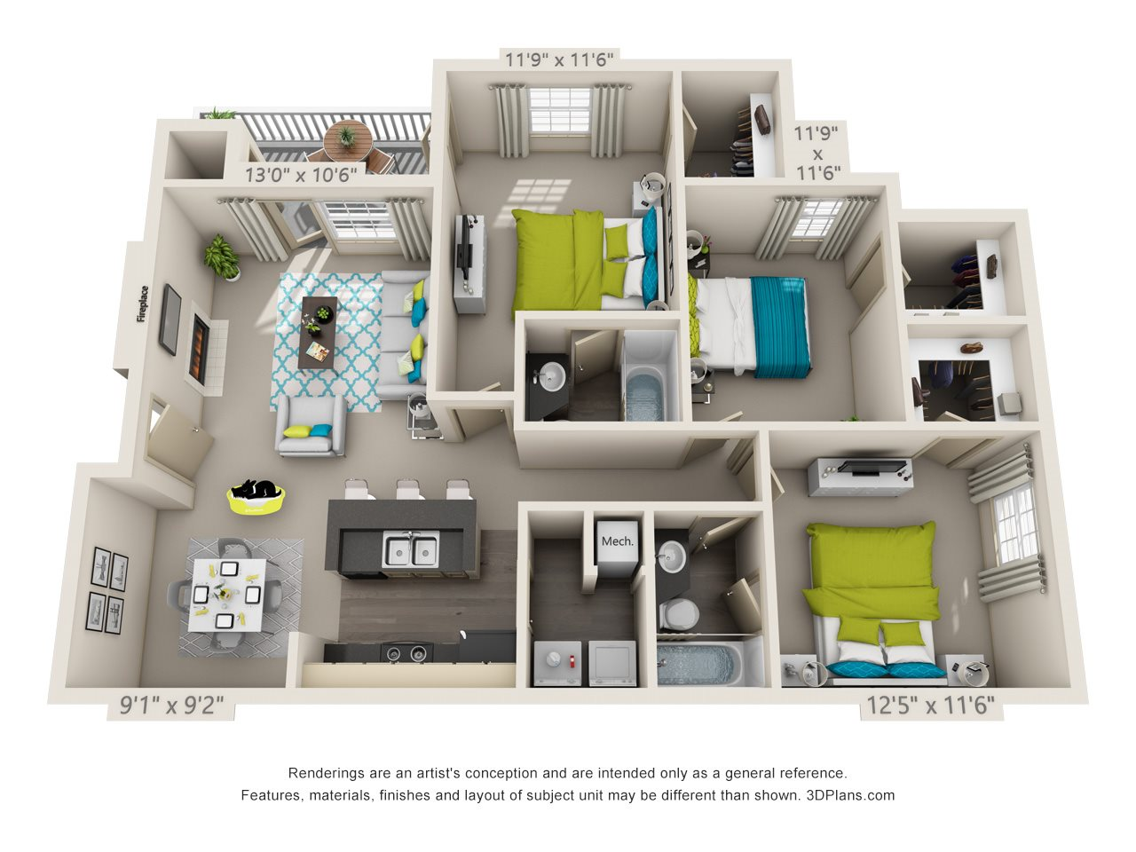 Carlisle Enhanced Floor Plan 7