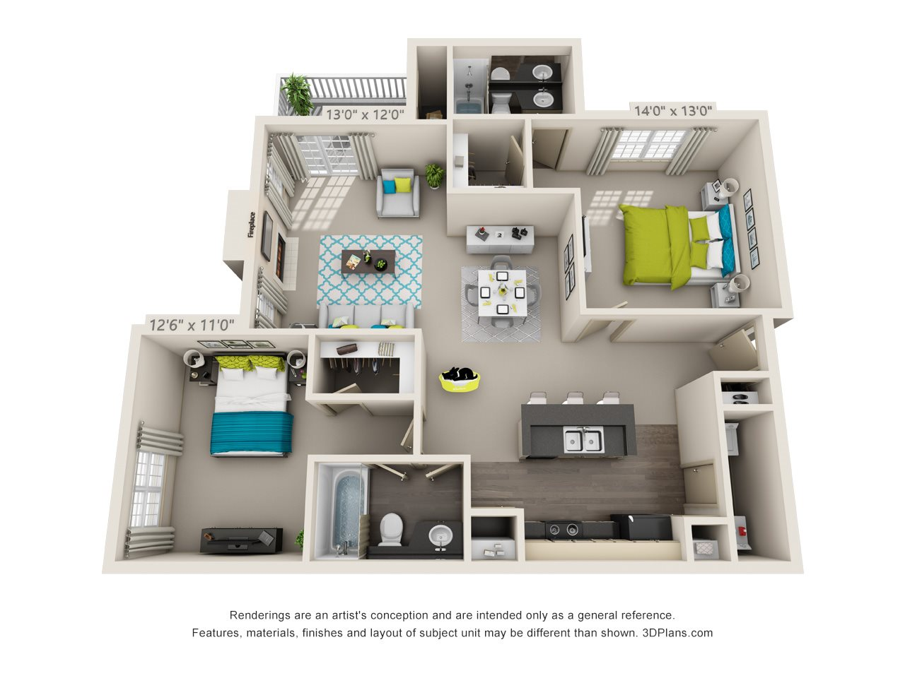 Windsor Enhanced Floor Plan 5