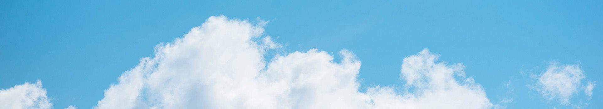 Brilliant Sunny Sky at Pacifica Senior Living South Coast, Costa Mesa, California